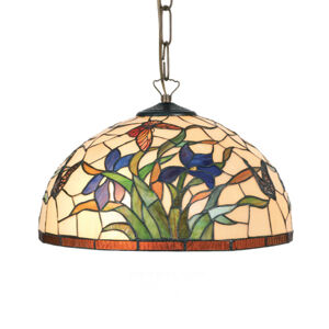 Artistar Závěsné světlo Elanda v Tiffany stylu 1 x E27