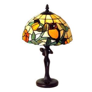 Artistar LIEKE - stolní lampa v Tiffany stylu