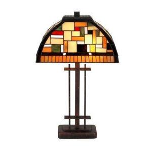 Artistar MOSAICA - stolní lampa v Tiffany stylu