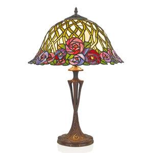Artistar Stolní lampa Melika v Tiffany stylu