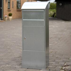 Juliana Stojanová poštovní schránka Allux 820G, šedá