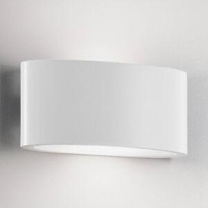 Ailati Venkovní nástěnné světlo LED Ovalino bílé