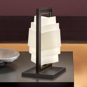 Artempo Italia Tmavě hnědá stolní lampa Vicente