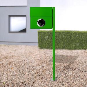 Absolut/ Radius Poštovní schránka Letterman XXL sloupek zelená