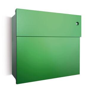 Absolut/ Radius Poštovní schránka Letterman IV se zvonkem, zelená