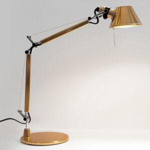 Artemide Artemide Tolomeo Micro stolní lampa, zlatá
