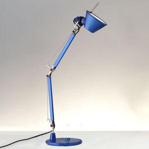 Artemide Artemide Tolomeo Micro stolní lampa, kovově modrá