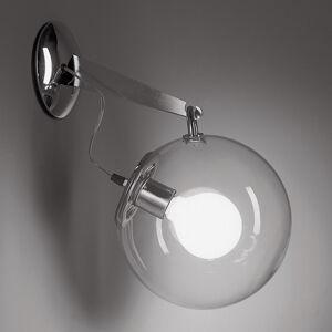 Artemide Artemide Miconos skleněné nástěnné světlo chrom