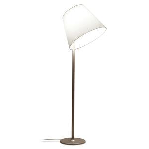 Artemide Artemide Melampo stojací lampa, 217 cm, bronz ecru