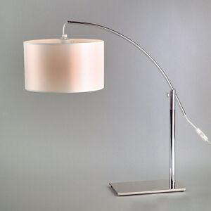 Aluminor stolní lampa Rainbow LT bílá/chrom
