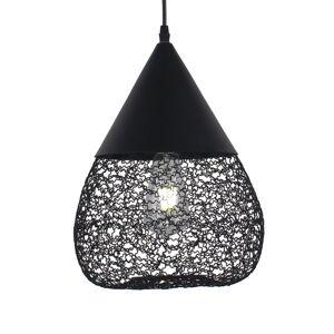 Aluminor Závěsné světlo Maroc z oceli, černá