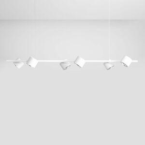 ALDEX Závěsné světlo Bot, bílé, šest zdrojů
