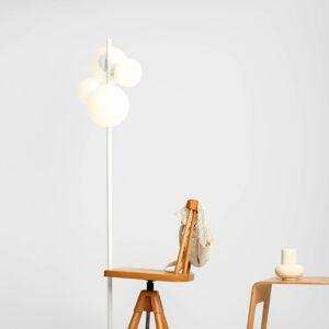 ALDEX Stojací lampa Balia, čtyři zdroje, bílá