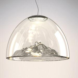 Axo Light Axolight Mountain View LED závěsné světlo šedé