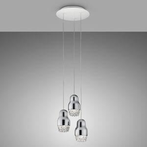 Axo Light Axolight Fedora - závěsné světlo LED chrom, 3zdr