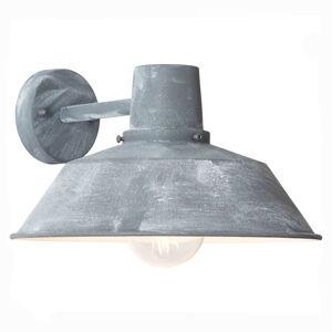 Brilliant Venkovní nástěnné světlo Humphrey, šedý beton