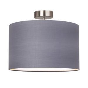 Brilliant Prosté stropní světlo Clarie, šedé