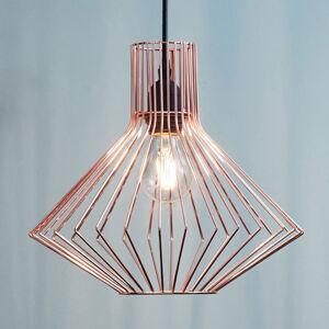 Brilliant Závěsné světlo Dalma z trendy mědi
