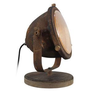 Brilliant Stolní lampa prům. styl v rezavých barvách