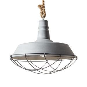 Brilliant Závěsná lampa Rope v industriálním stylu