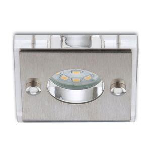 Briloner LED podhledové svítidlo Nikas obdlélník, hliník
