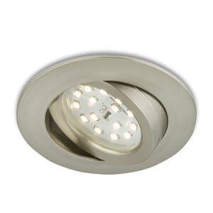 Briloner Flexibilní LED podhledové svítidlo Erik matný nikl
