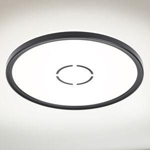 Briloner LED stropní svítidlo Free Ø 29 cm černé
