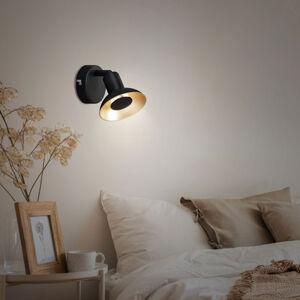 Briloner LED nástěnné světlo Kukui, jeden zdroj