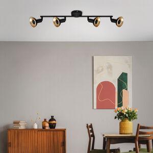 Briloner LED stropní svítidlo Kukui, čtyři zdroje