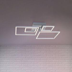 Briloner LED stropní světlo Frames 2 malé/2 velké čtverce