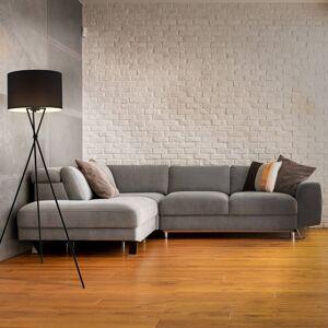 Briloner Stojací lampa 1382-015 třínožka, textilní stílidlo