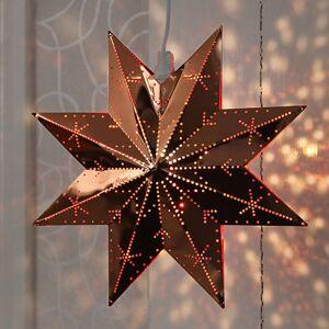 STAR TRADING Měděná kovová hvězda Classic