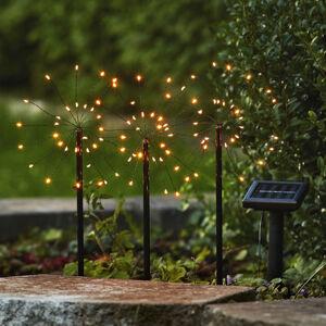 Best Season LED solární lampa Firework sada se zapich. hroty