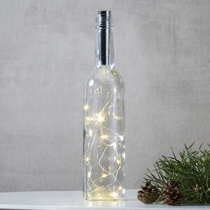 Best Season Světelný řetěz pro láhve Dew Drops 75 cm, stříbrný