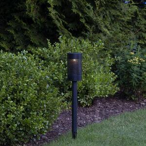Best Season Blace LED solární světlo s dlouhým hrotem, 46 cm
