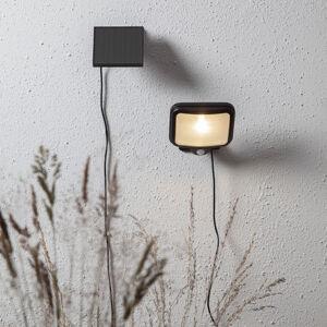 Best Season Powerspot LED solární světlo, hranaté černé 200