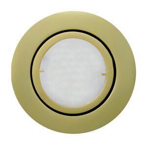Busch Matně zlaté LED podhledové svítidlo Joanie
