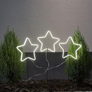 Best Season LED hvězda Neon Star, exteriér, tři žárovky