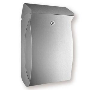 Burgwächter Kompaktní plastová poštovní schránka Swing stříbro