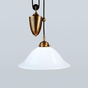 Berliner Messinglamp Závěsné světlo Bernd z mosazi