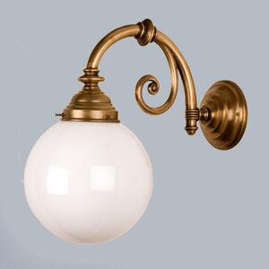 Berliner Messinglamp Mosazné nástěnné světlo Frank