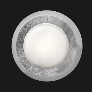BRAGA LED stropní svítidlo Disco vě stříbře