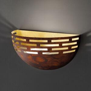 BRAGA Trendový rezavý vzhled - nástěnné světlo LED Greka
