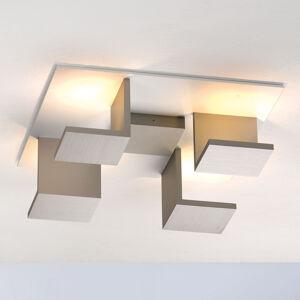 BOPP Bopp Reflections stropní světlo čtverec bílá/taupe