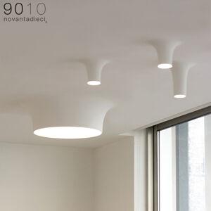 9010 LED stropní svítidlo 8935D, 2 700K, 40,5x40,5cm