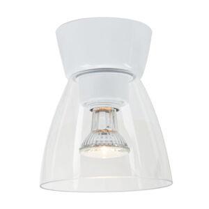 BELID Stropní světlo Bizzo baldachýn bílé čiré sklo