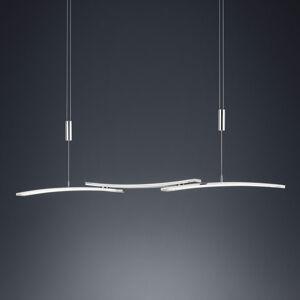 BANKAMP BANKAMP 2138/3-92 závěsné LED světlo, matný nikl