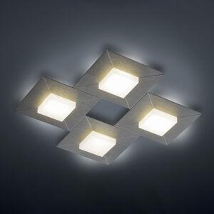 BANKAMP BANKAMP Diamond stropní světlo 42x42cm antracit