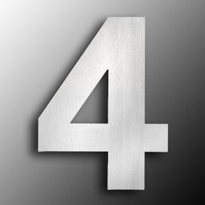 CMD Domovní čísla z ušlechtilé oceli velikost 4