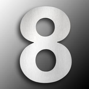 CMD Domovní čísla z ušlechtilé oceli velikost 8